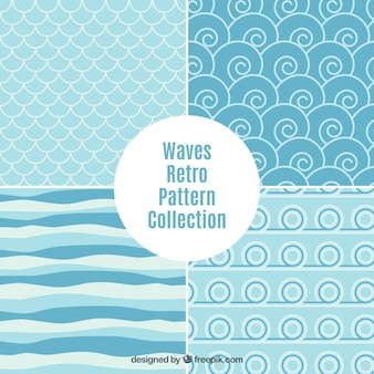 Waves abstract patroon collectie