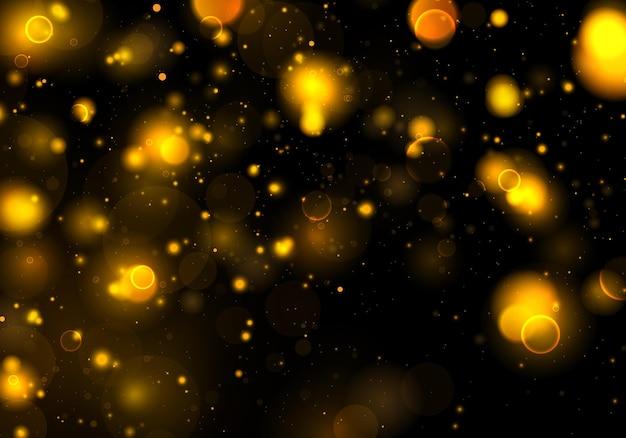 Wazig bokehlicht op achtergrond. abstracte glitter intreepupil vonken.