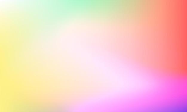 Wazig heldere kleuren achtergrond