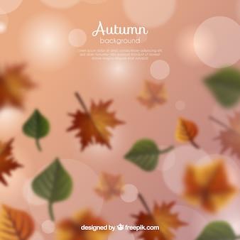 Wazig herfst achtergrond