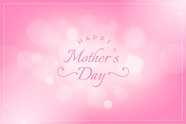 Wazig moederdag concept