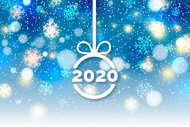 Wazig nieuw jaar 2020