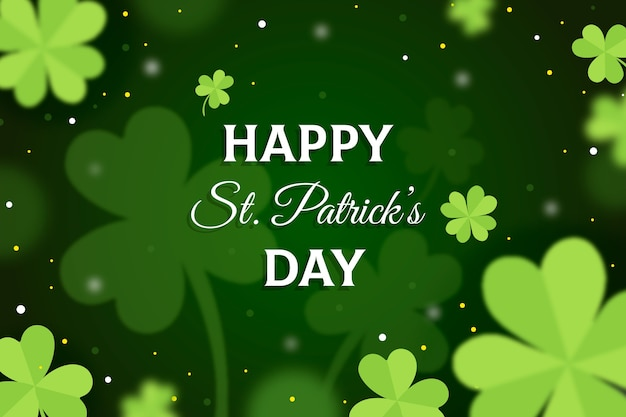 Wazig st. patrick's day met letters