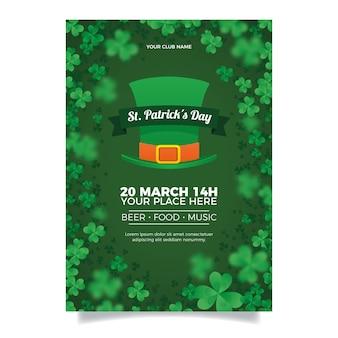 Wazig st. patrick's day poster