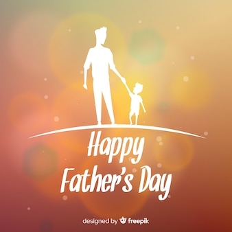 Wazig vaders dag achtergrond