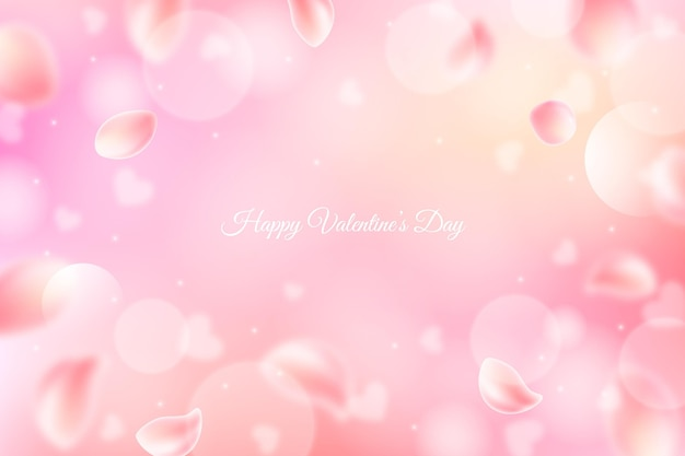 Wazig valentijnsdag achtergrond