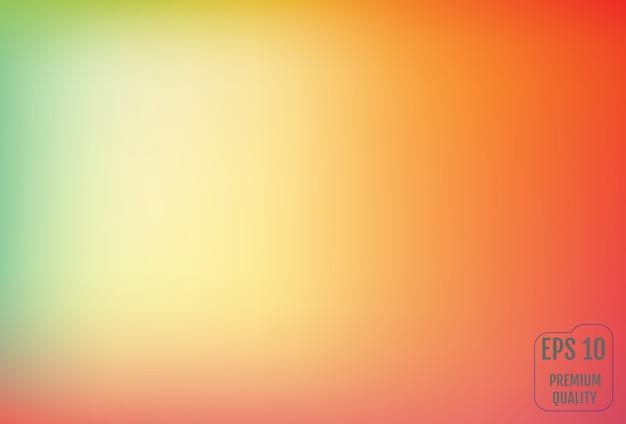 Wazig verloopnet achtergrond in felle kleuren