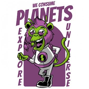 We consumeren planeten