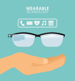 Wearable technologieillustratie