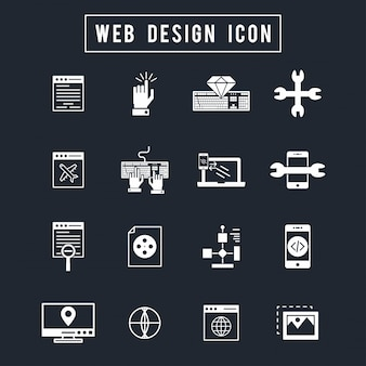Web design icoon