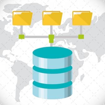 Web hosting ontwerp