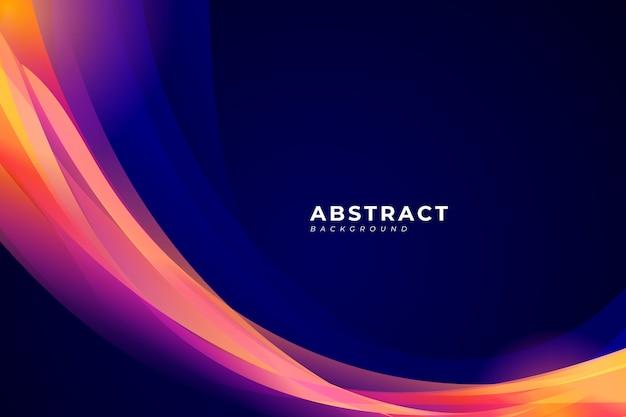 Webabstracte achtergrond met kleurrijke vorm voor uw poster, banner, kalender, flyer.