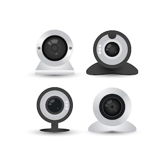Webcam grafische ontwerpsjabloon