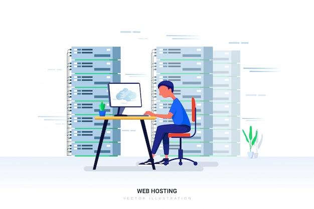 Webhosting met karakter.