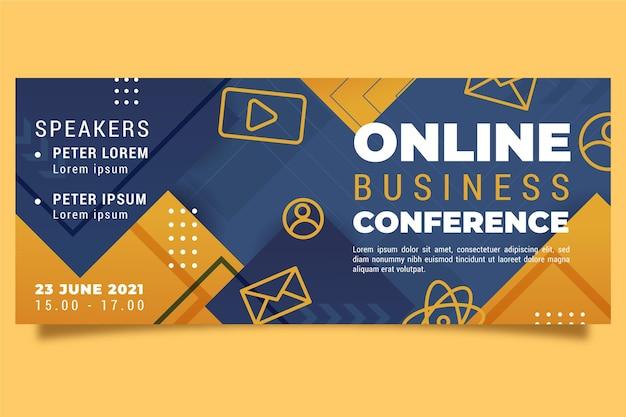 Webinar banner uitnodiging sjabloon