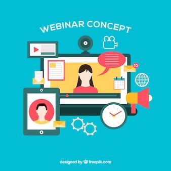 Webinar-concept