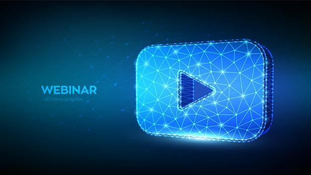 Webinar. internet videoconferentie.