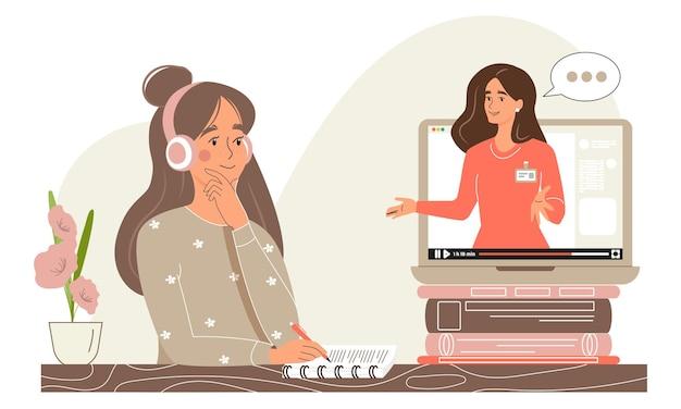 Webonderwijs op afstand