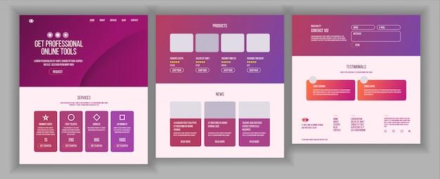 Webpagina-ontwerp
