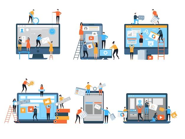 Webpagina's in aanbouw seo optimalisatie