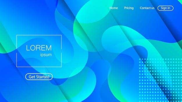 Website abstracte achtergrond