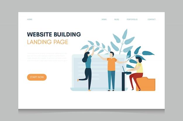 Website bouwpagina