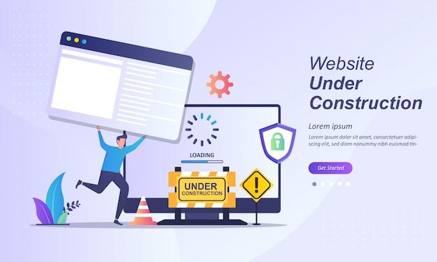 Website in onderhoud