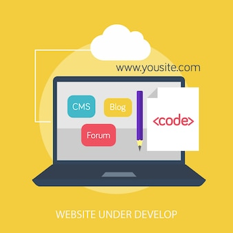 Website onder ontwikkeling