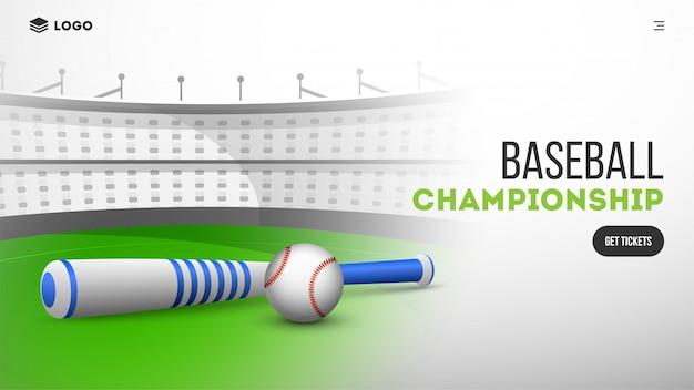 Website van de honkbalclub.