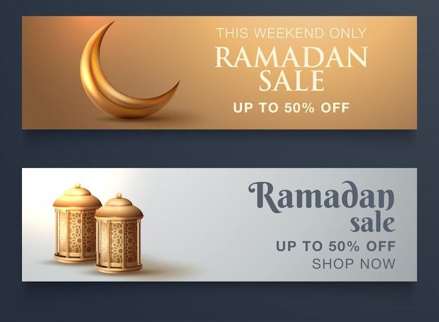 Website verkoop banner ontwerp