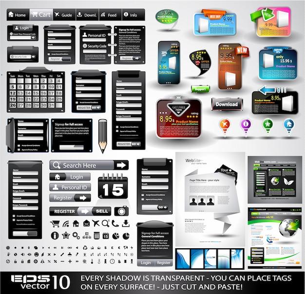 Webspullen zwart extreme collectie