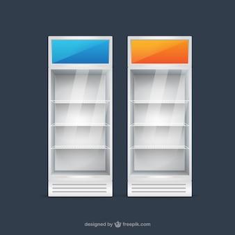 Weergave koelkasten