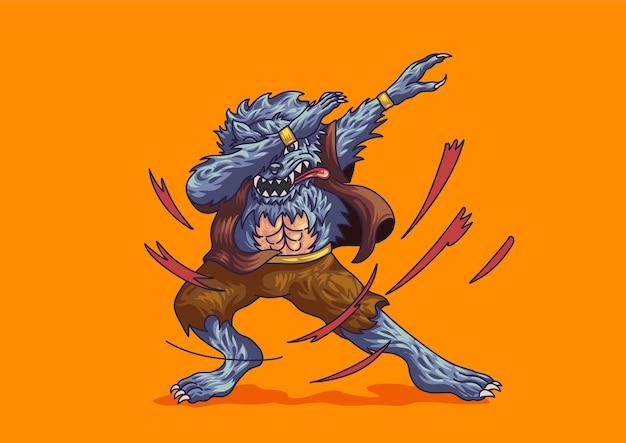 Weerwolf deppen halloween