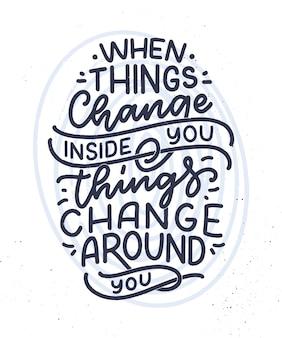 Wees jezelf belettering slogan. grappig citaat voor blog, poster en print.