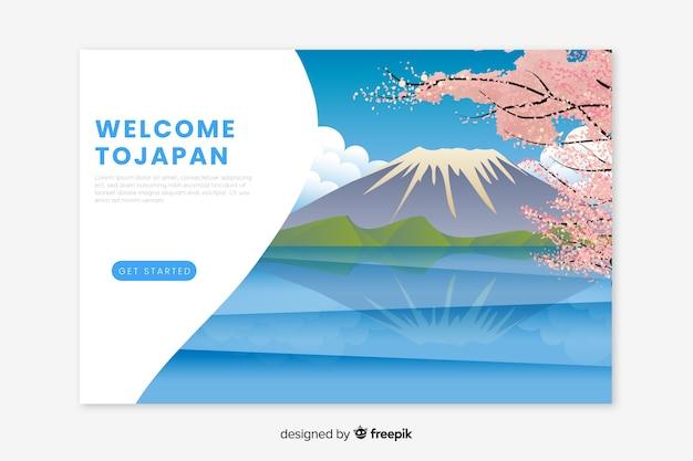Welkom bij de landingspagina van japan