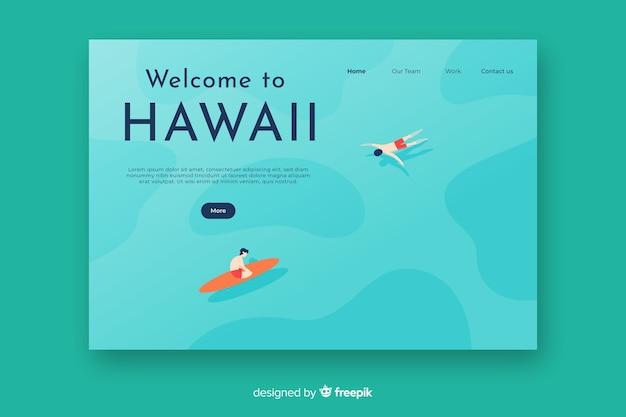 Welkom bij de startpagina van hawaii