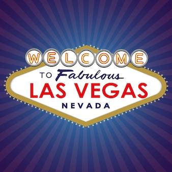 Welkom bij fabulous las vegas sign