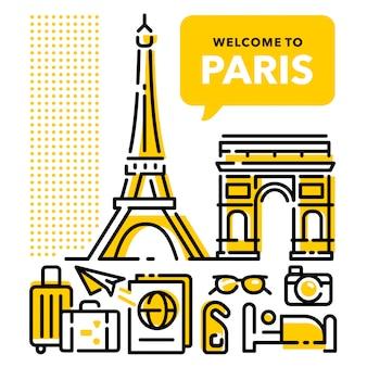 Welkom in parijs