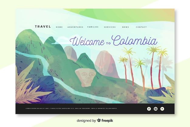 Welkom op de bestemmingspagina van colombia