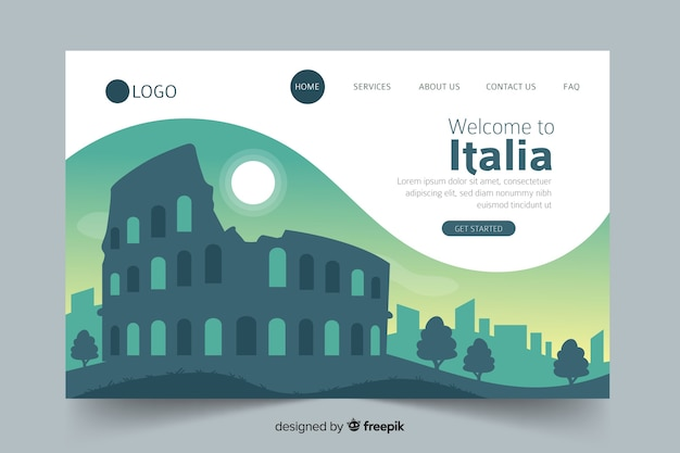 Welkom op de bestemmingspagina van italië