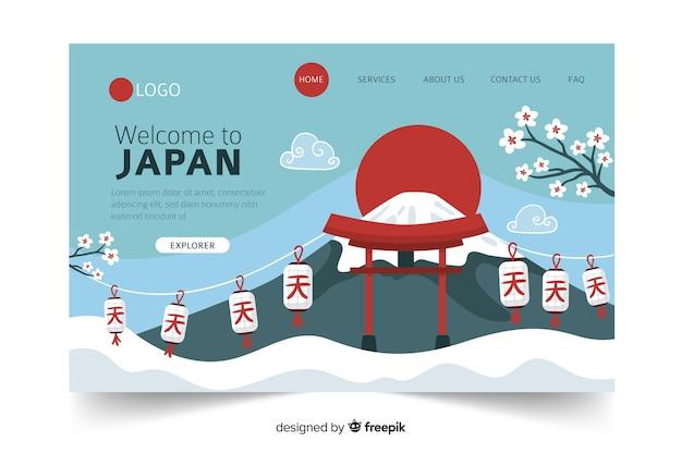Welkom op de bestemmingspagina van japan