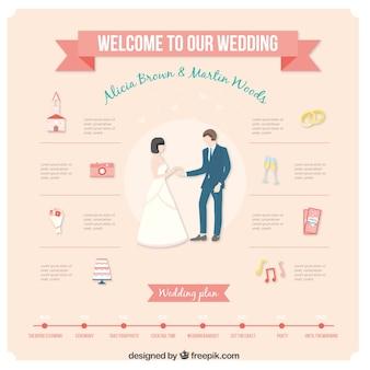 Welkom op onze bruiloft