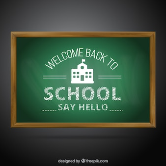 Welkom terug naar school