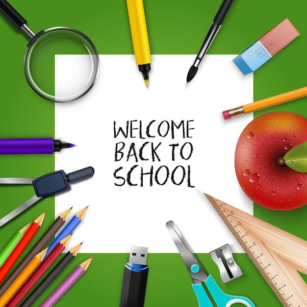 Welkom terug naar schoolsjabloon