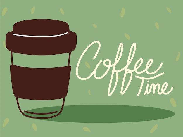 Wenskaart voor koffietijd
