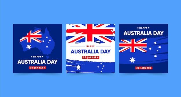 Wenskaarten voor de dag van australië