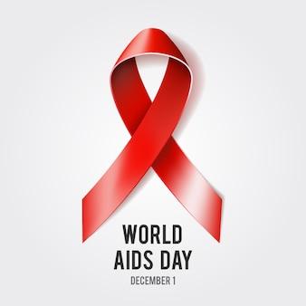 Wereld aidsdag concept