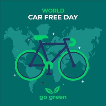 Wereld autovrij dagthema