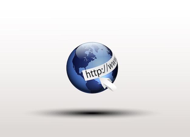 Wereld en http: // www