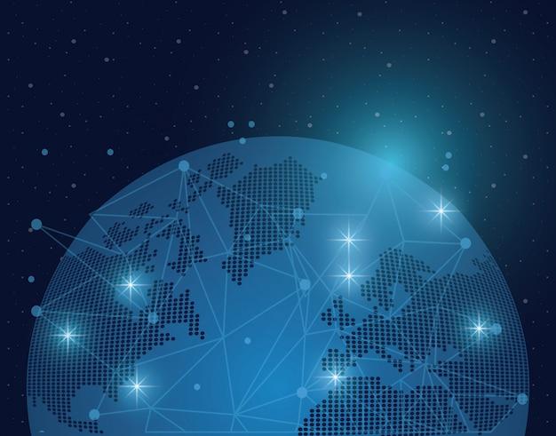 Wereld en verbinding